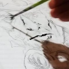 Live Drawing | Morgan Guiraud