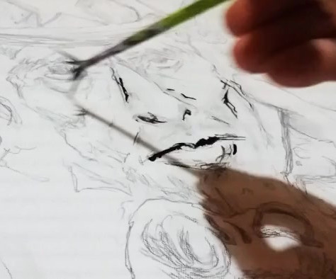 Live Drawing | Morgan Guiraud