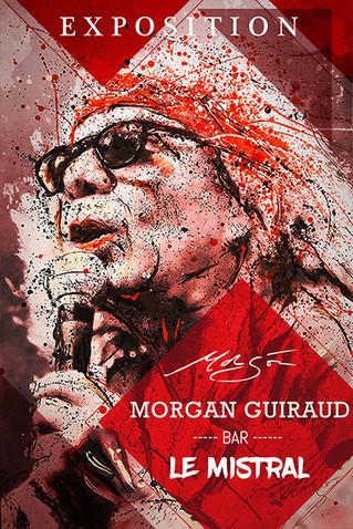 Exposition Morgan Guiraud au Mistral, parfum du Sud et Artistes du pays de l'Or