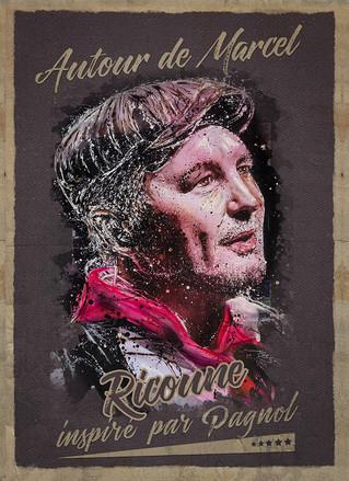 """""""Autour de Marcel"""", c'est le nouveau spectacle de Ricoune, inspiré de Pagnol. La poési"""