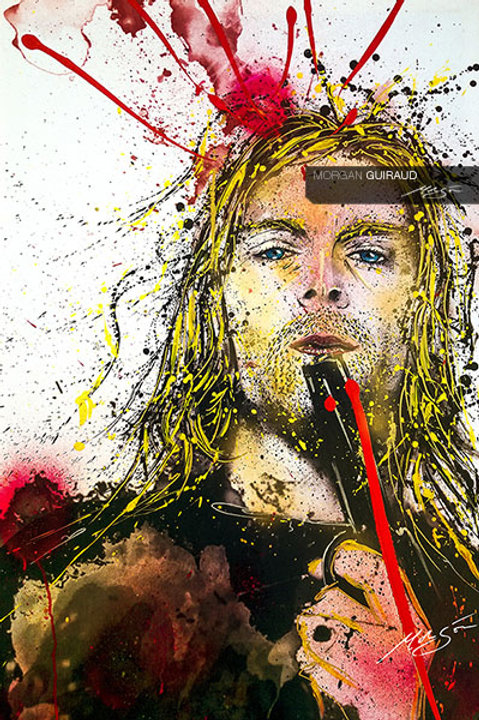 Kurt Cobain Neo Grunge Painting Nirvana