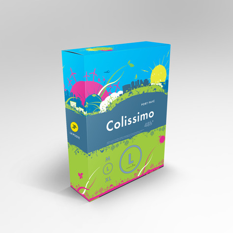 Packaging Colissimo