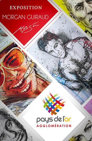 L'Agglomération du Pays de l'Or accueille Morgan Guiraud pour une nouvelle exposition Neo Pop Art. L