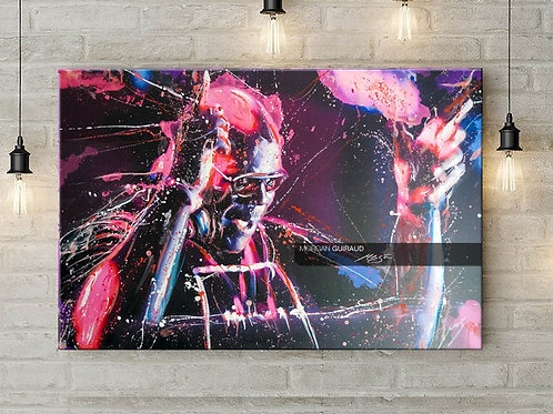 Carl Cox Neo Pop Art Painting - ORIGINAL