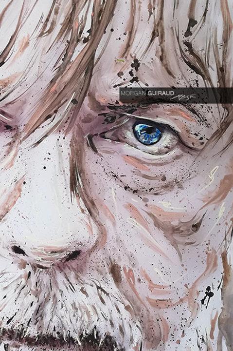 Renaud - Portrait Neo Pop Art - Mister Renard - ORIGINAL