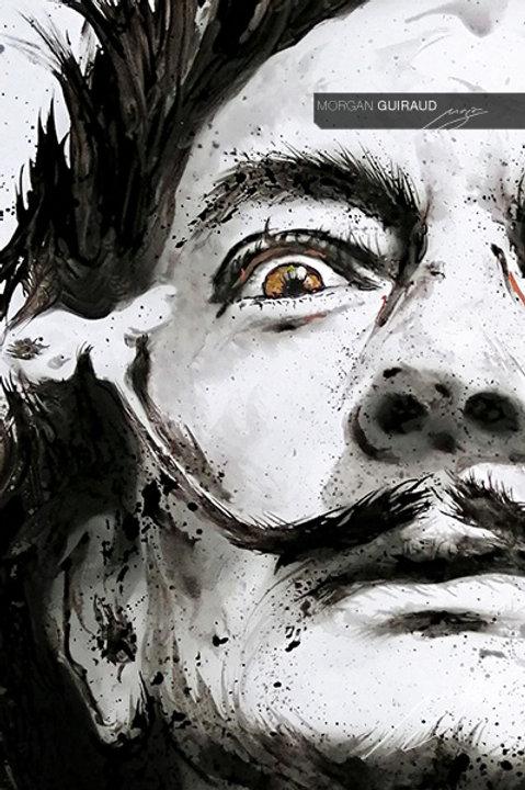 Salvador Dalí Neo Pop Art - Hand finish Silkscreen Variant