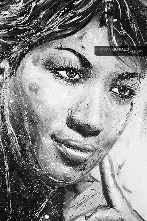 "Aretha Franklin ""Lady Soul"" Neo Pop Art - Hand finish Silkscreen Variant"