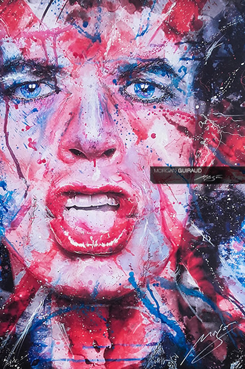 Mick Jagger - The Rolling Stones - RockStar Painting