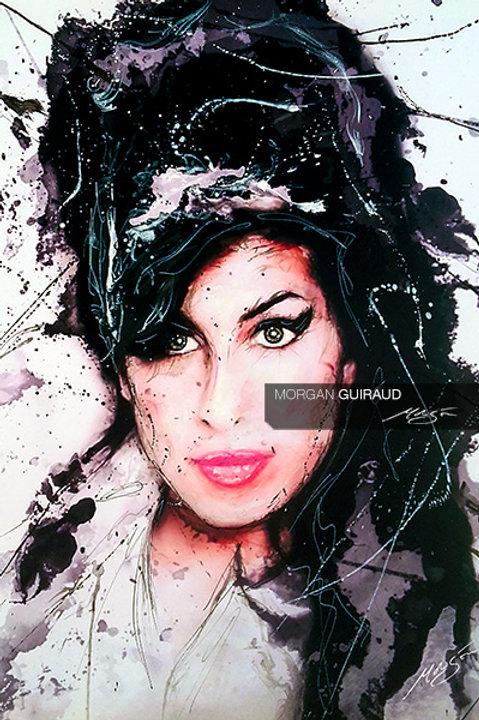 Amy Winehouse - Neo Pop Art painting - ORIGINAL