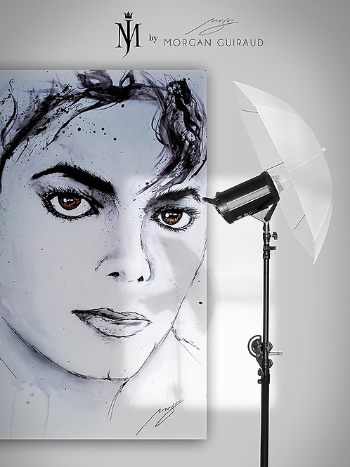 Michael Jackson Neo Pop Art - Hand finish Silkscreen Variant