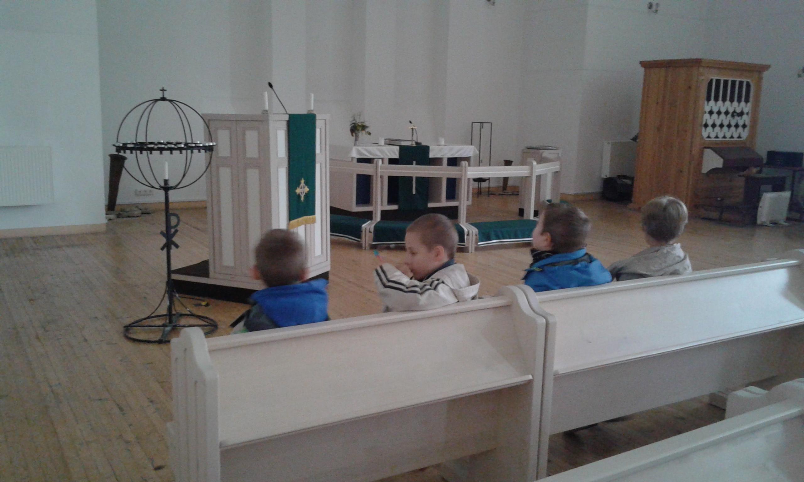 Peeteli kirikus
