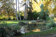 Aire de jeux pour les enfants, marre aux canards et jardin public proche du Gîte Céleste à Epernay : le parc de l'horticulture
