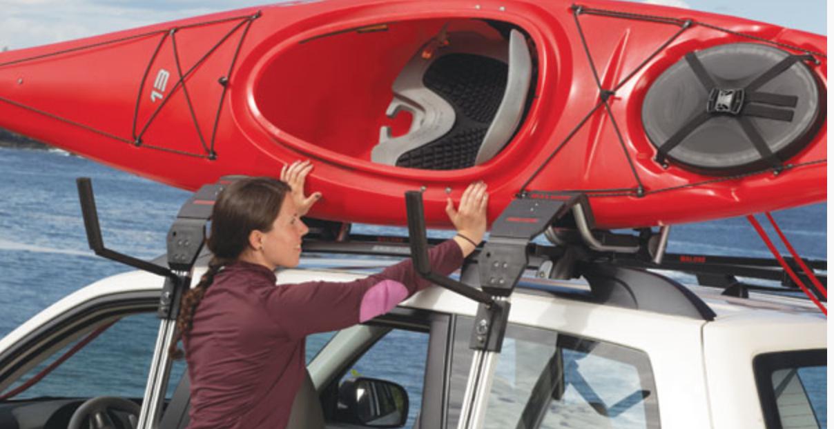 Malone Auto Racks kayak system