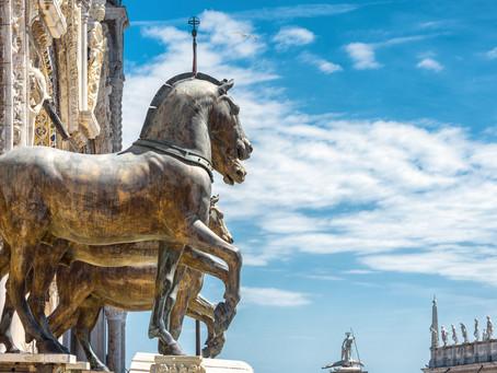 The Battle for the Venetian Soul: Byzantium vs. Francia