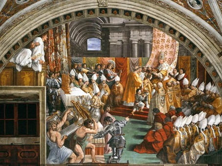 Three's a Crowd: How the Papacy Sought a Germanic Godfather