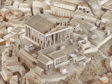 The Capitoline Temple of Rome