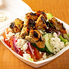 Add a chicken skewer to your salad or rice