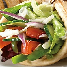 Vegetarian Pita