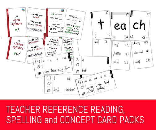 Playberry Teacher Reference Card Packs