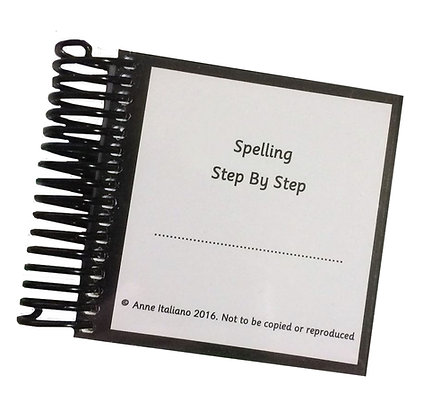 Spelling Step by Step by Anne Italiano