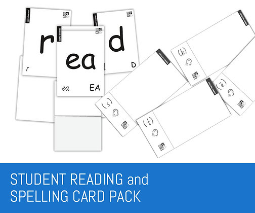 Playberry Student Reading, Spelling and Concept Card Packs
