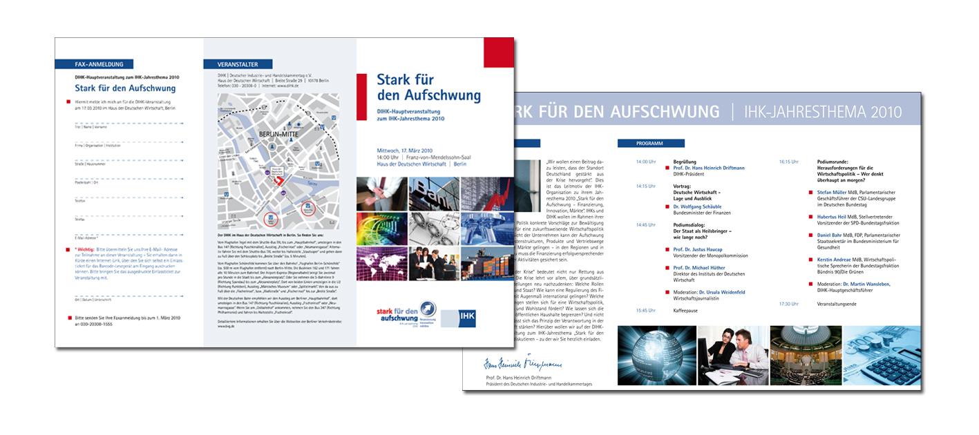 Flyer Auftakt 2010