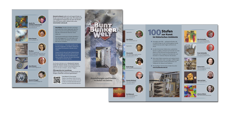 Flyer Bunkerwelt 2017