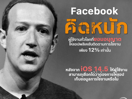 Facebook ได้รับผลกระทบหลังจาก iOS 14.5