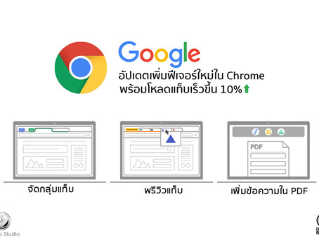 Google อัปเดตเพิ่มฟีเจอร์ใหม่ใน Chrome พร้อมโหลดแท็บเร็วขึ้น 10%