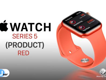 Apple Watch Series 5 สีแดง (PRODUCT)RED คาดเปิดตัวต้นปี 2020
