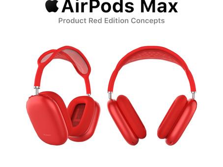 AirPods Max Product Red Edition Concepts จะดีจะแพงขอแดงไว้ก่อน