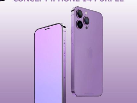 Concept iPhone 14 Purple