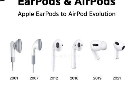 วิวัฒนาการของหูฟัง Apple EarPods & AirPods