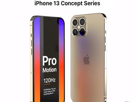 iPhone 13 Pro Concept Feature Pro Motion 120Hz