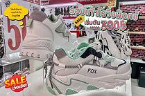 รองเท้าผ้าใบ Roving Fox ลดราคาเริ่มต้นที่ 390 บาทเท่านั้น!!