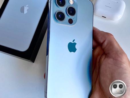 มาแล้ว!! iPhone 13 ProMax สี Sierra Blue (เซียร่าบลู)