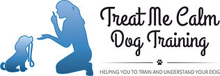 Treat Me Calm Dog Training - Logo Colour