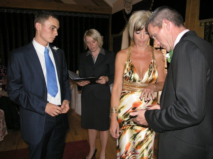 Darren and Lesley Wilson.