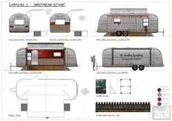 Caravan 3 - 'Stage' Airstream