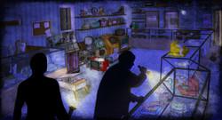 1950's Pawn Shop - Interior