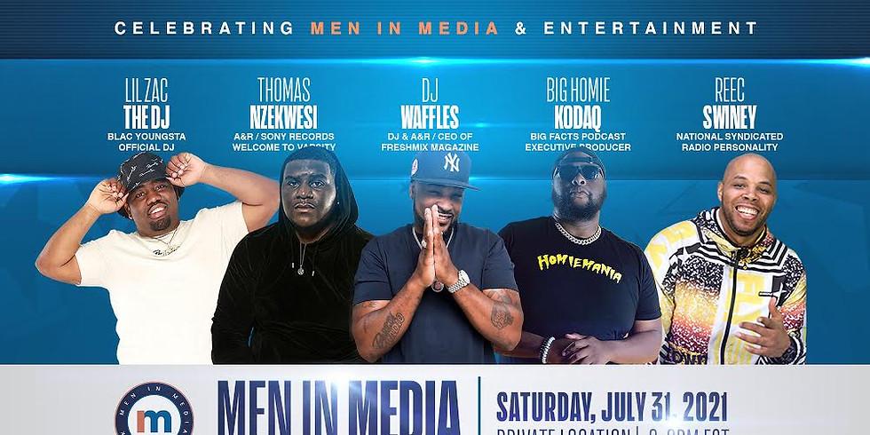 Men in Media Launch Event
