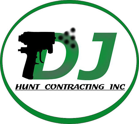 Spray foam logo DJ HUNT CONTRACTING INC with graco fusion cs