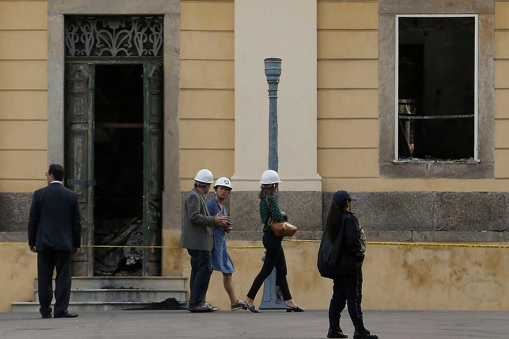 Unesco estima 10 anos para restaurar Museu Nacional