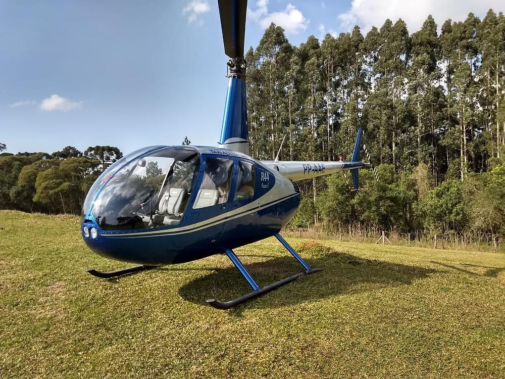 Passeio de Helicóptero será presente para mães no Caminho do Vinho