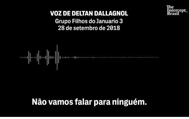 Áudio mostra fala de Dallagnol sobre entrevista de Lula