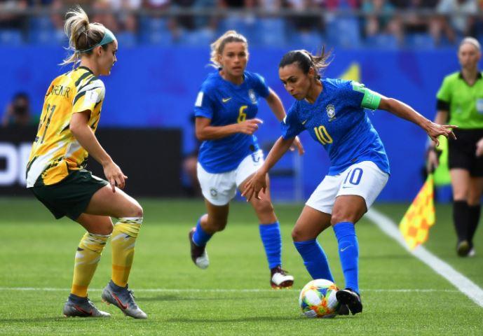 Brasil sofre  virada da Austrália na Copa do Mundo
