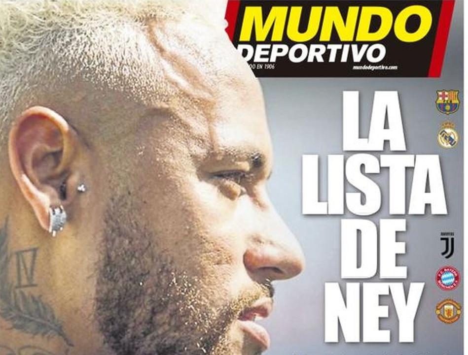 Além do Barcelona, Neymar se ofereceu ao Real, Juventus, Bayern e Manchester United