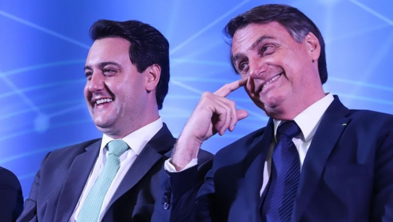 Mau tempo impede Bolsonaro de inaugurar usina no Paraná