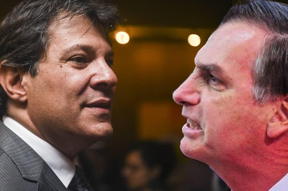 Ibope mostra Bolsonaro com 27%, Haddad com 21% e Ciro com 12%