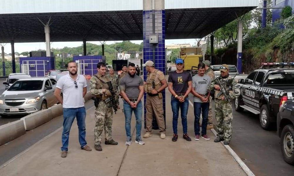 Traficante carioca preso no Paraguai é transferido para Foz